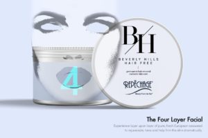 beverly hills hair free four layer facial c
