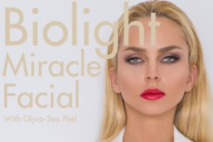 beverly hills hair free skin care biolight miracle facial