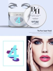 beverly hills hair free the four layer facial